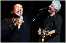 Smokey Robinson (right) and Graham Nash (left) will get new exhibits at the Rock and Roll Hall of Fame this fall. (The Plain Dealer)